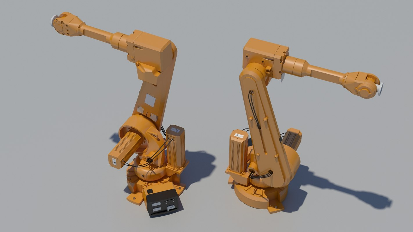 3d robotic arm 2600 model