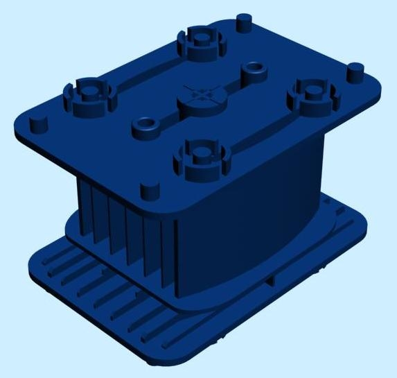 vacuum pad homag weeke 3d model