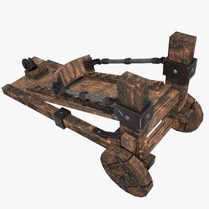 3d orc catapult