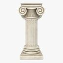 ionic column 3D models