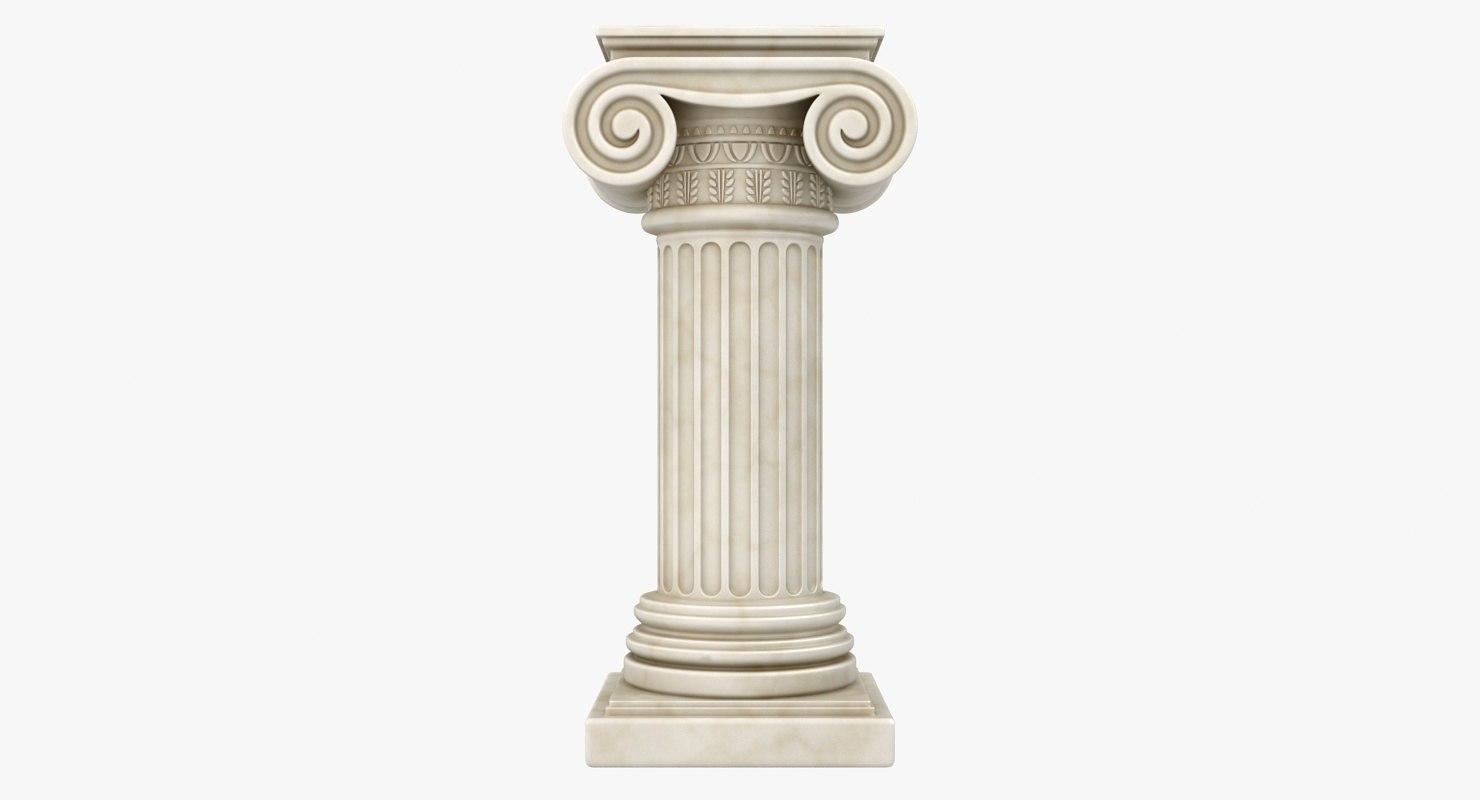 3d max column 04