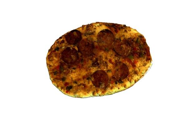 pizza mini 3d obj