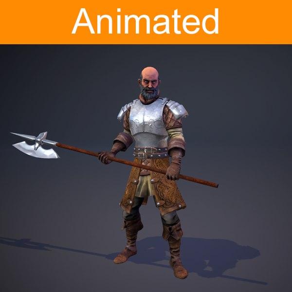 x character knight