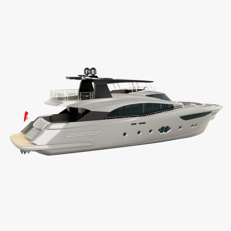 3d monte carlo 105 yacht