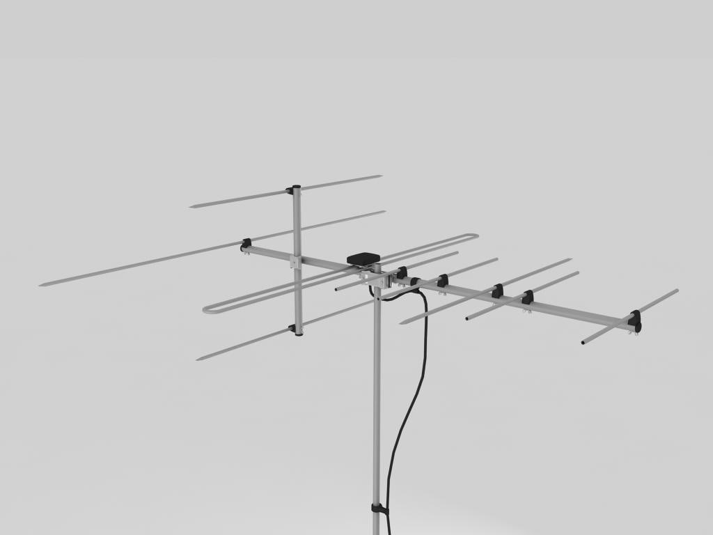 vhf antena 3d model