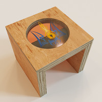 3d model tea-tables - pray ukraine