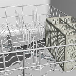 door open racks slide 3d max
