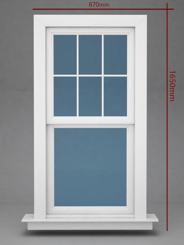 window 3d 3ds