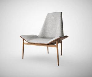 kent lounge chair 3d model