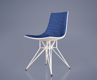 3d audley dining chair model
