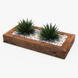 decorate plant 3 3d max