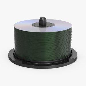 3d spool-of-cds