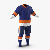 hockey clothes generic 3 3d max