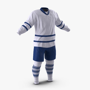 3d max hockey clothes generic 5