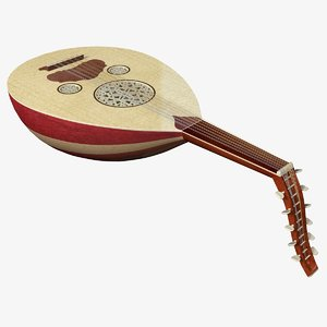oud stringed 3ds