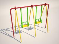 swing kids 3d max