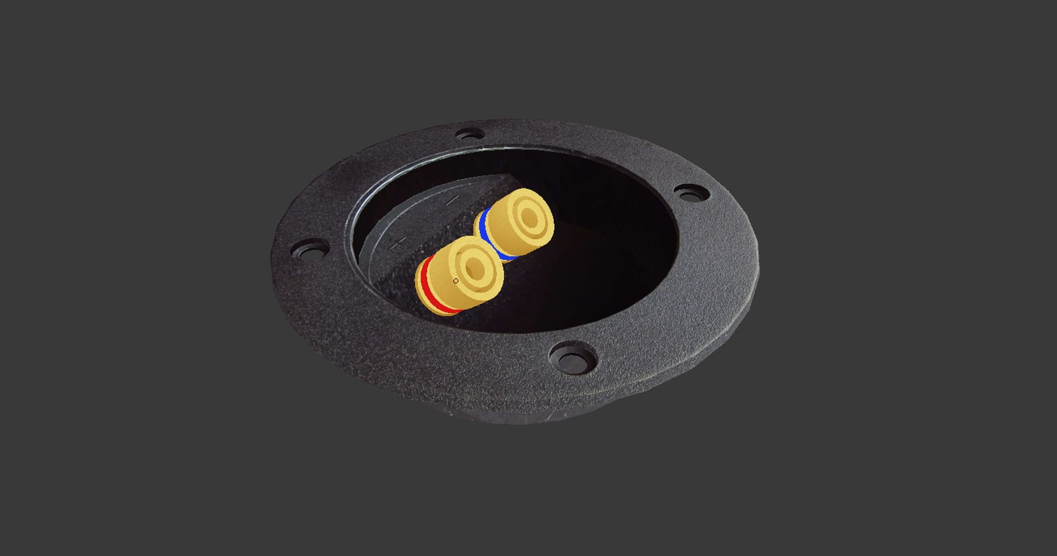 3d model terminal plug