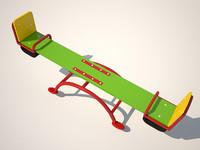 3d model rocking - balancer