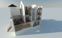 fully residential 3d model