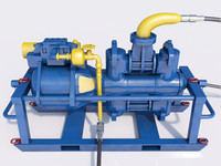 3d model mining pump