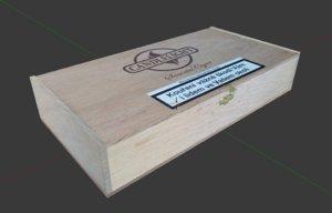cigar box 3d blend