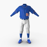 baseball player outfit generic 3ds