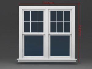 3d model window operating