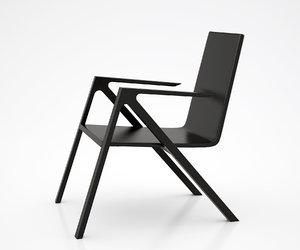 3d felix relax chair model
