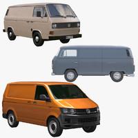 3d model transporter van