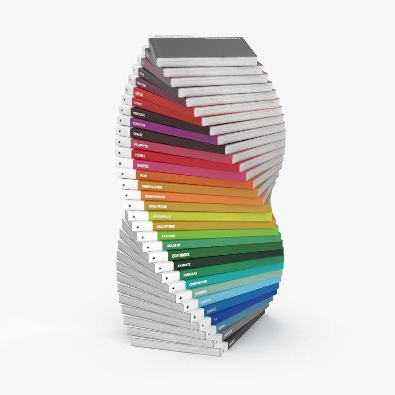 design-magazine-collection 3d model