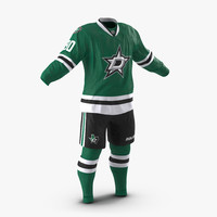 hockey clothes dallas stars 3d 3ds