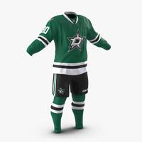 hockey clothes dallas stars 3d 3ds