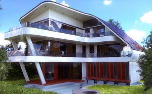 modern house dxf