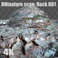 rn texture scan - rock 001: