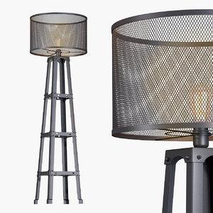 3d type lamp lighting model