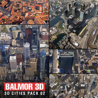 3d model city pack san francisco