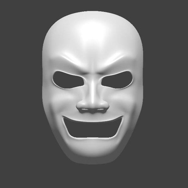mask v2 3d model