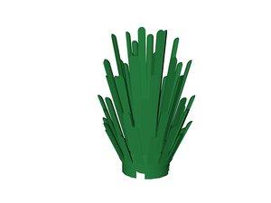lego bush 3d model