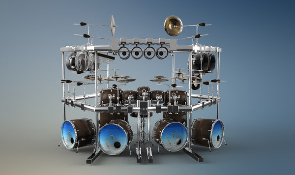3d model dream theater mike mangini