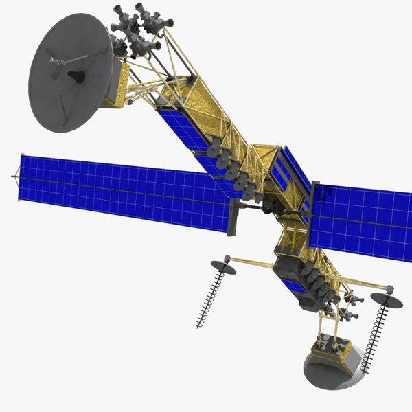 3d military satellite milstar