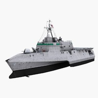 USS Coronado LCS-4 - Littoral Combat Ship
