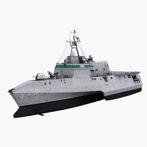 3d model uss coronado lcs-4 littoral combat