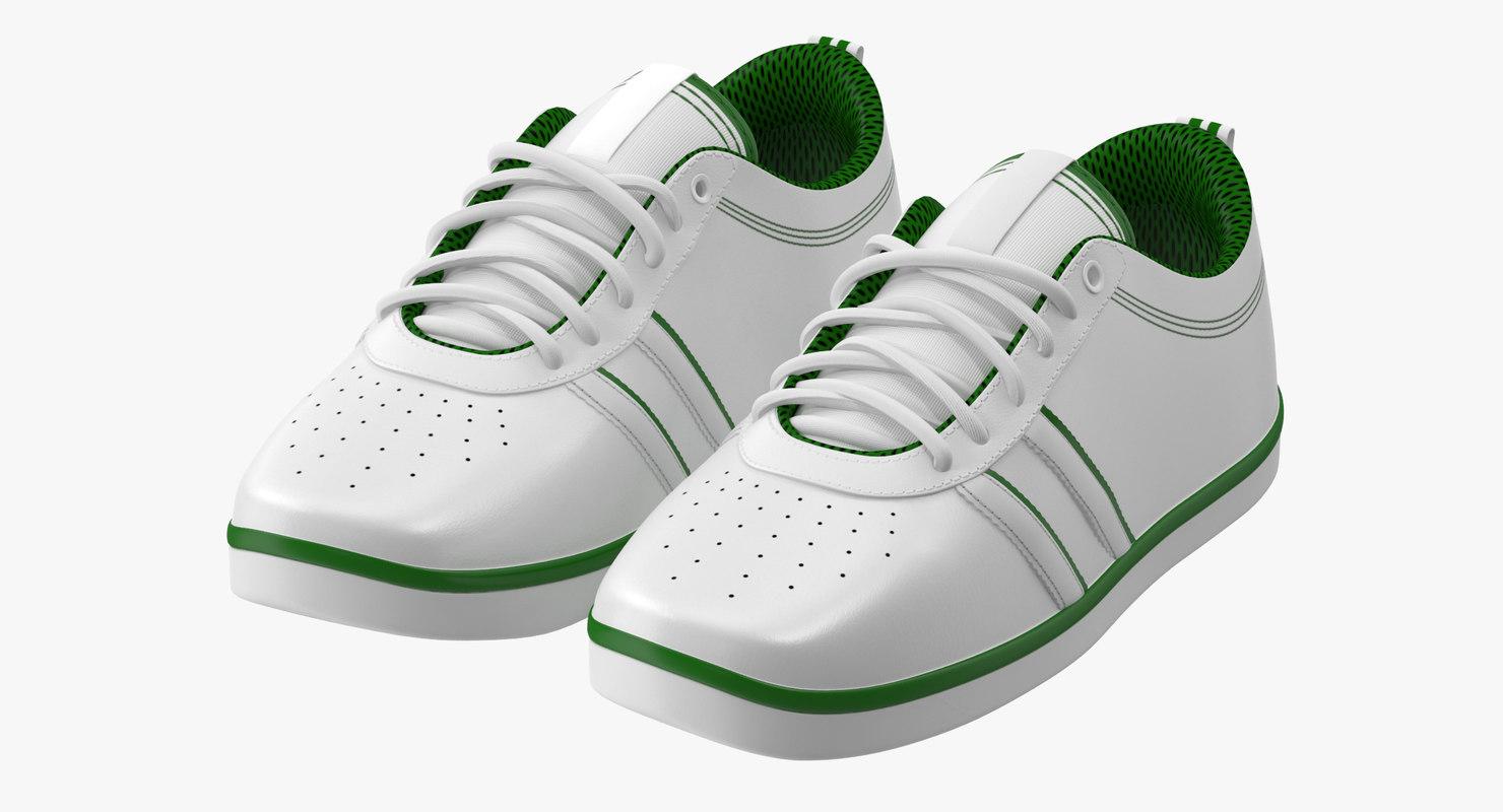 3d tennis shoes model