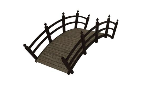 japanese bridge obj