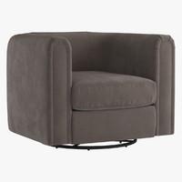 Alden Barrel Club Chair