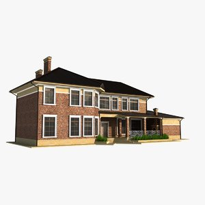 3d house story