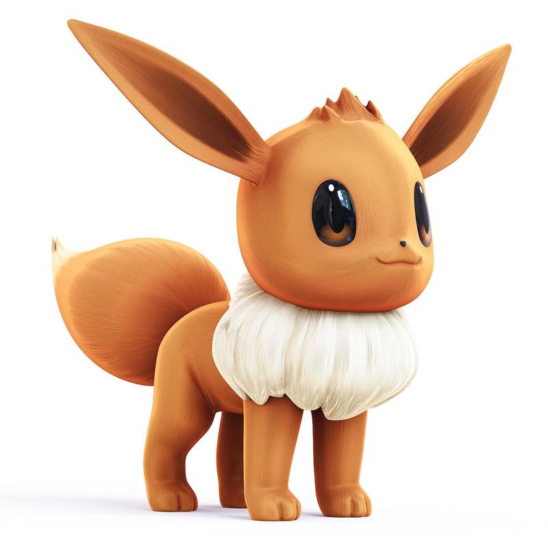 pokemon corona 3d model