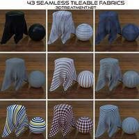 43 Seamless Tileable Fabrics