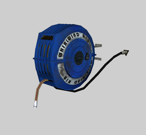 air hose reel 3d fbx