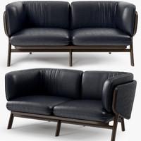 De La Espada - Nichetto 102M Stanley 2 seater sofa